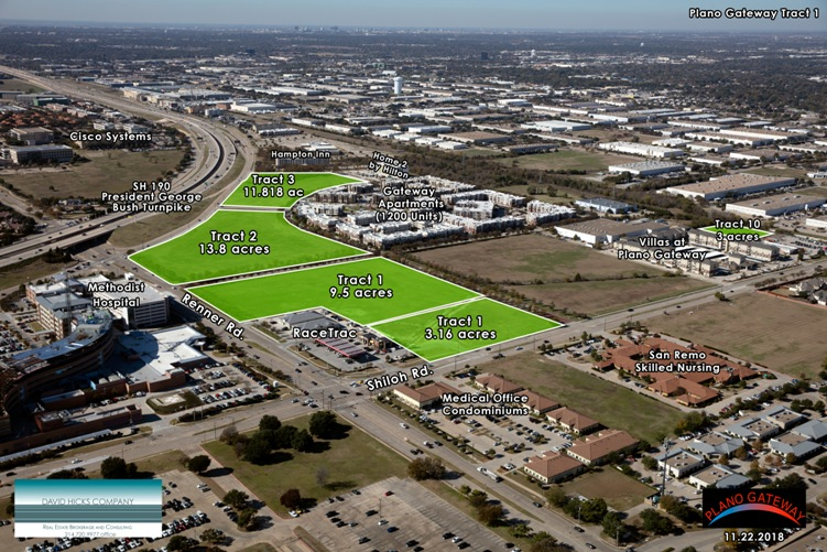 plano gateway renner and shiloh rd land for sale