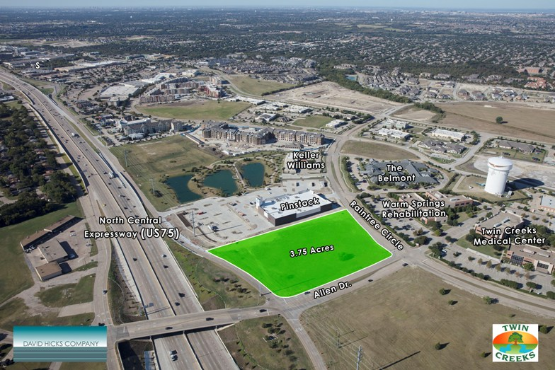 land for sale allen dr and us 75 allen texas